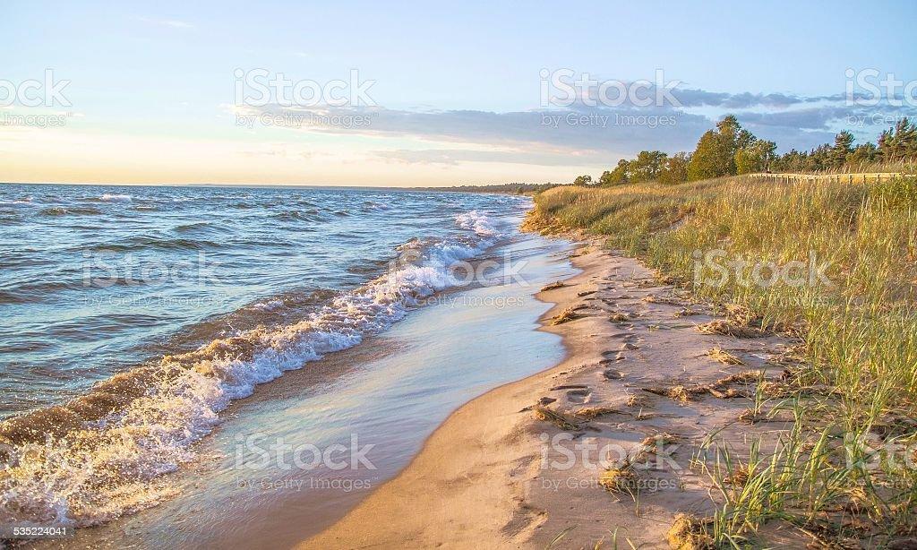 Día en la playa - foto de stock