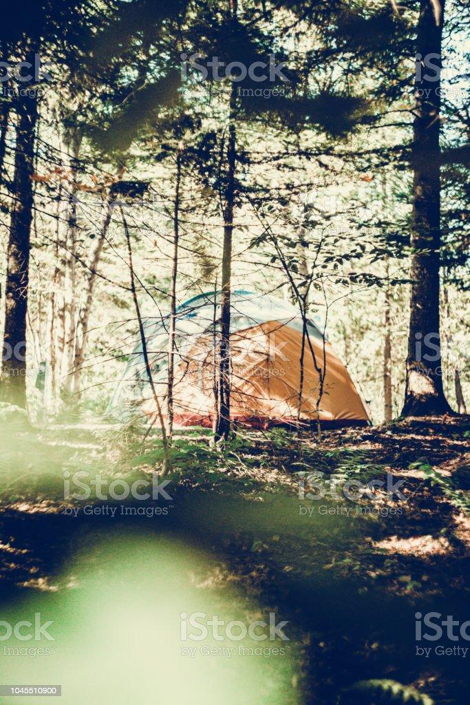 Un jour au camping - Photo