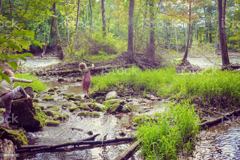 Day at the River zbiór zdjęć royalty-free