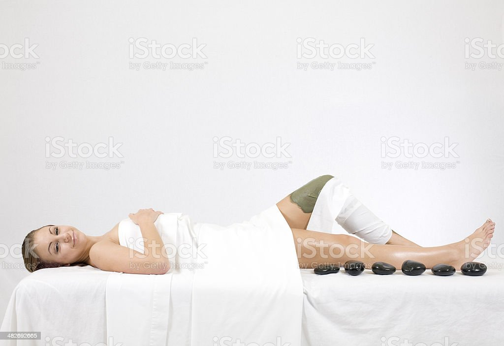 Day at the Spa royalty-free stock photo