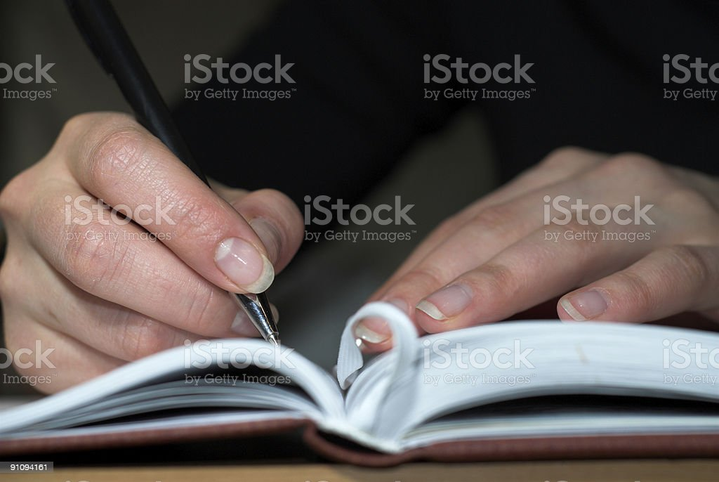 Day book royalty-free stock photo