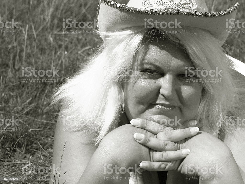 Day Dreaming. (sweetheart) royalty-free stock photo