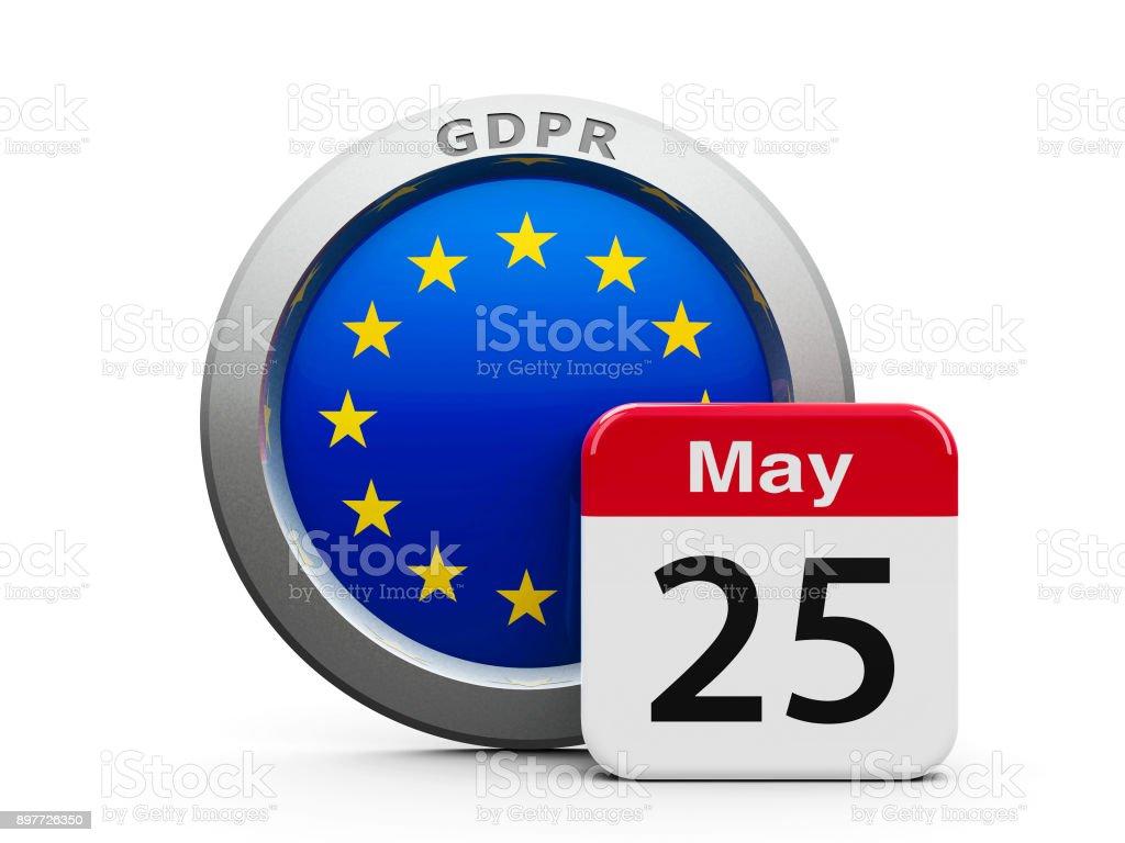 GDPR día UE - foto de stock