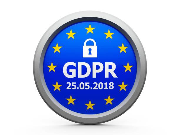 Unión Europea GDPR día #2 - foto de stock