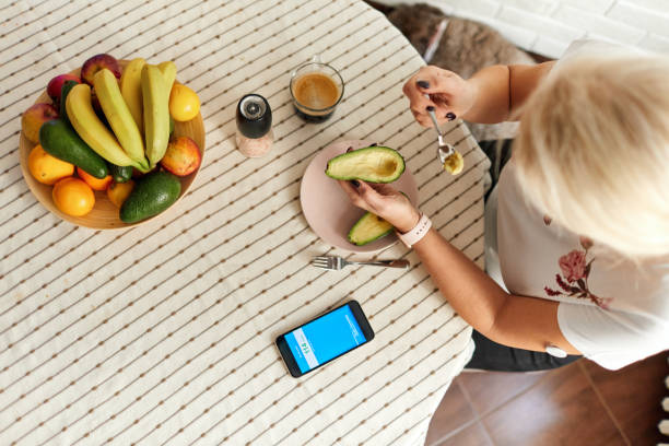 Day In Life Of A Person With Diabetes stock photo