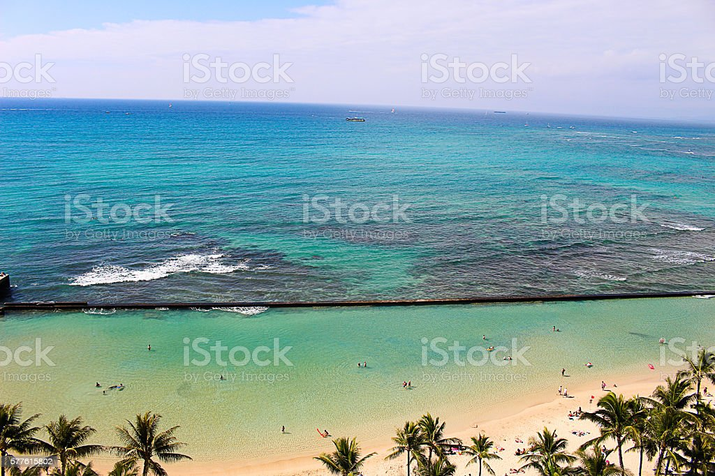 Day in Paradise stock photo