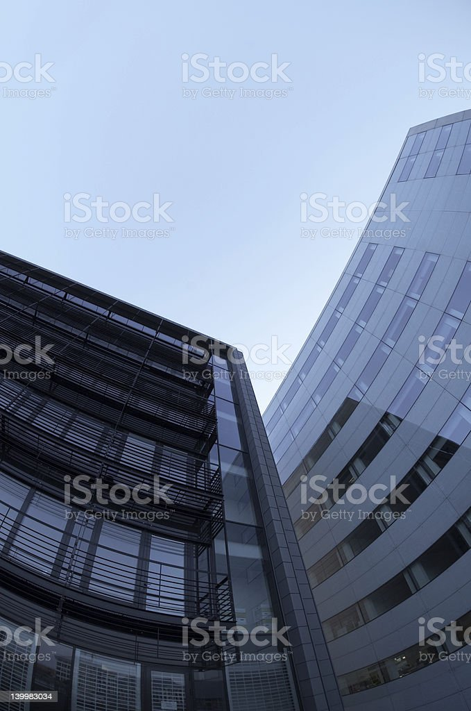 Day in the city royalty-free stock photo
