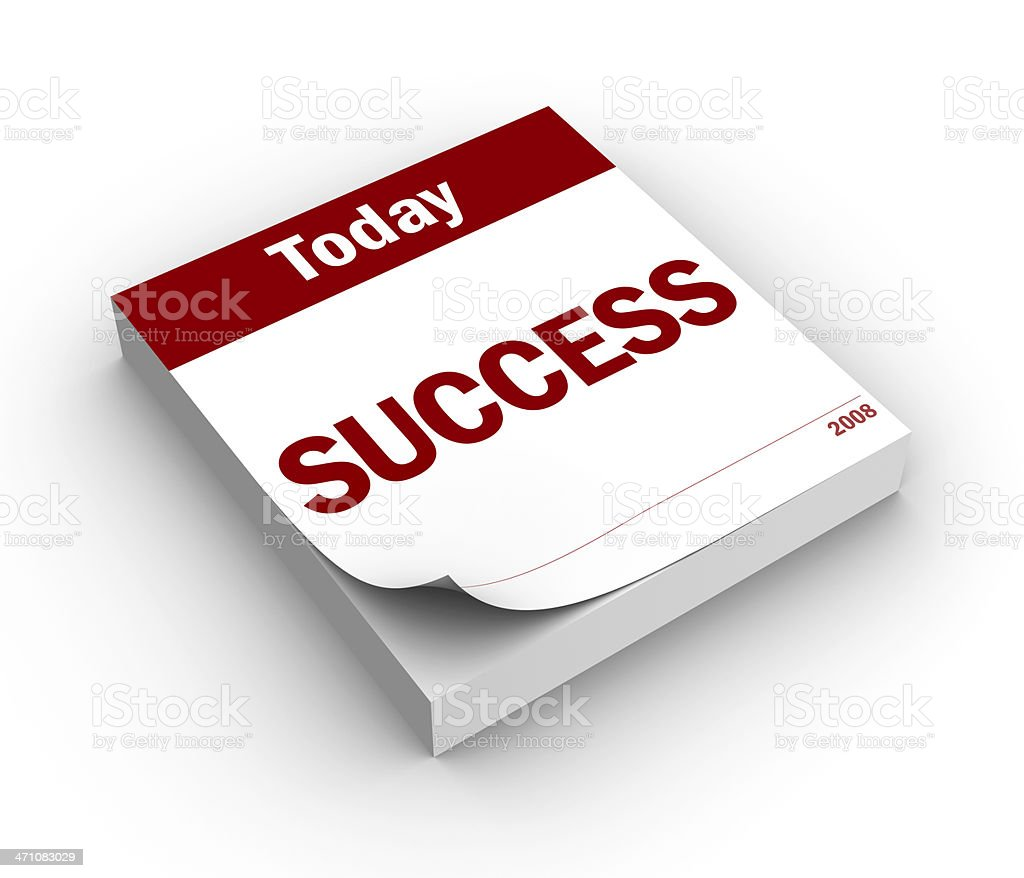 Day of success royalty-free stock photo