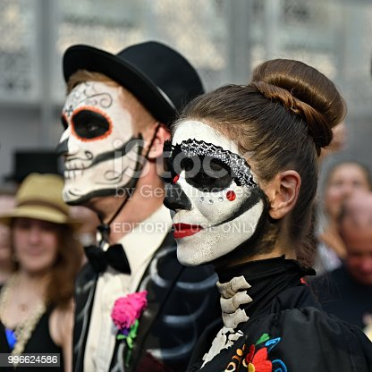 Dia De Los Muertos Carnival Stock Photo More Pictures Of Adult