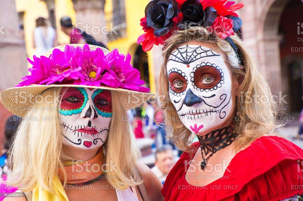 Day of the Dead, Día de Muertos in San Miguel de Allende, Mexico stock photo