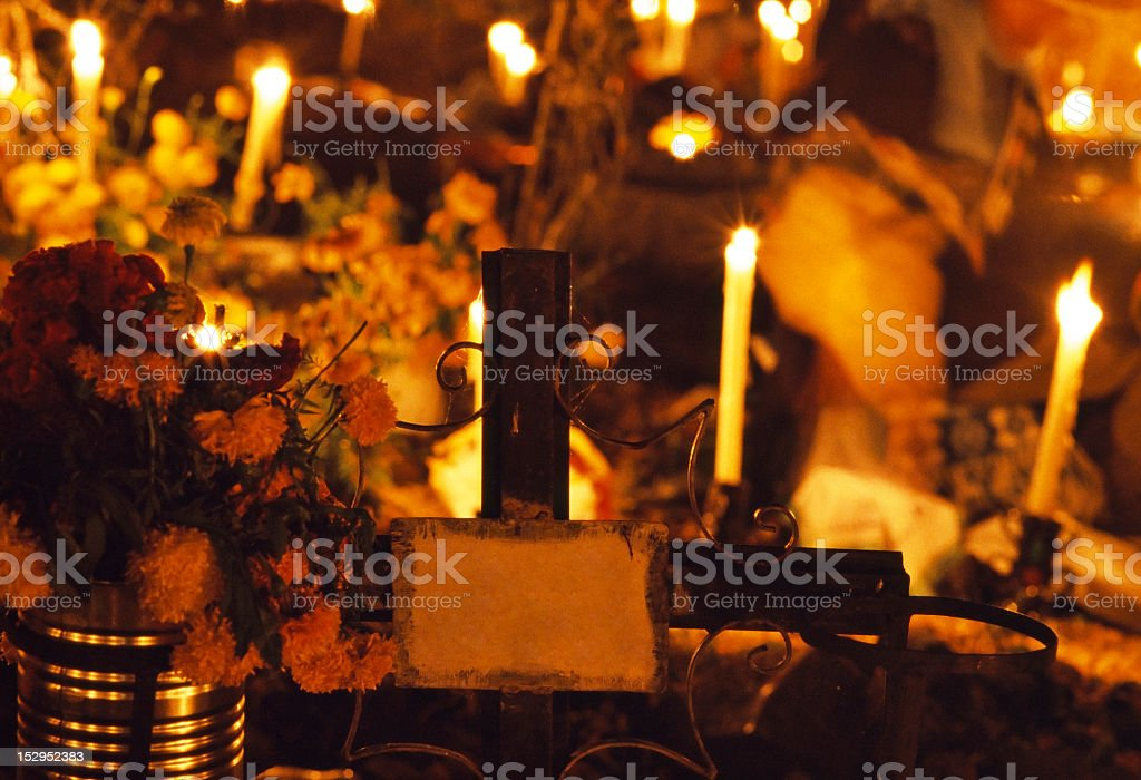 Day of the Dead in Janitzio, Michoacan, Mexico stock photo