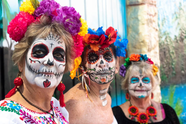 Day of the Dead in Mexico stock photo