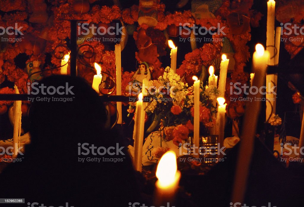 Day of the Dead, Janitzio, Michoacan, Mexico royalty-free stock photo
