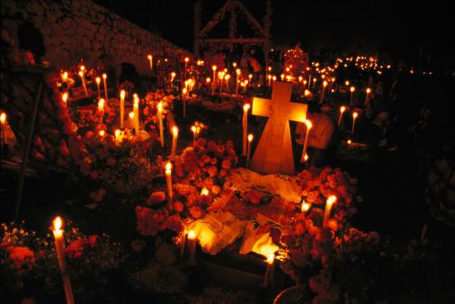 Day of the Dead, Janitzio, Michoacan, Mexico