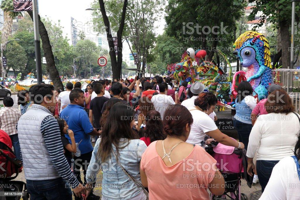 Day of the Dead Parade, Paseo de la Reforma