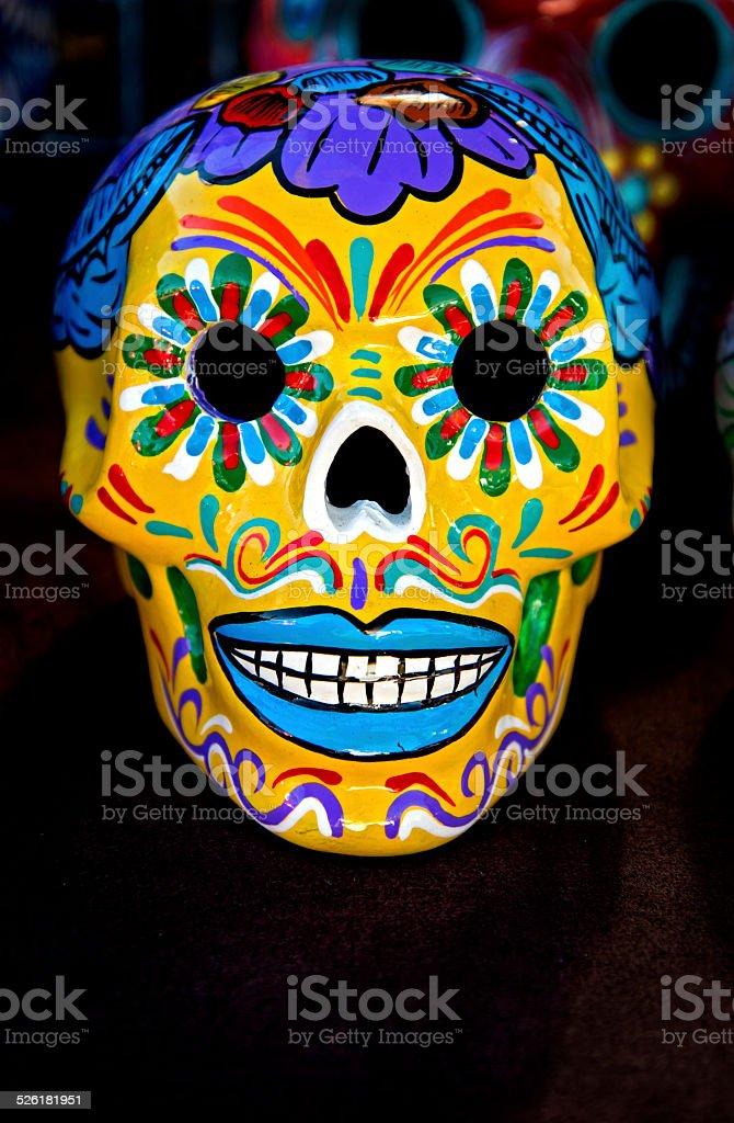Dia De Los Muertos Skull stock photo