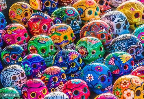 istock Day of the Dead Skulls 842330410