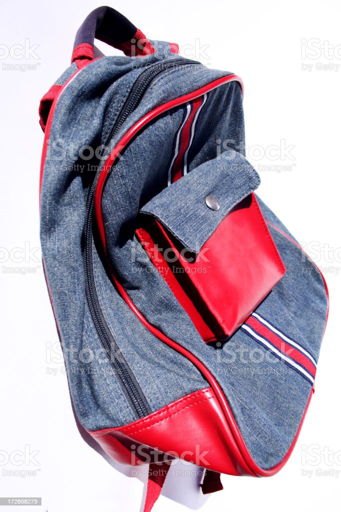 day pack: trendy teen royalty-free stock photo