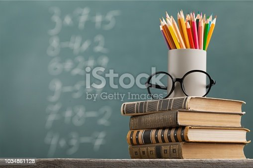 Day international school teachers blackboard books brazil