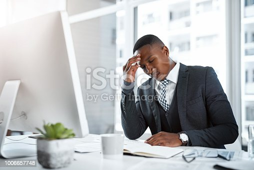 istock Day to day business can be demanding 1006657748