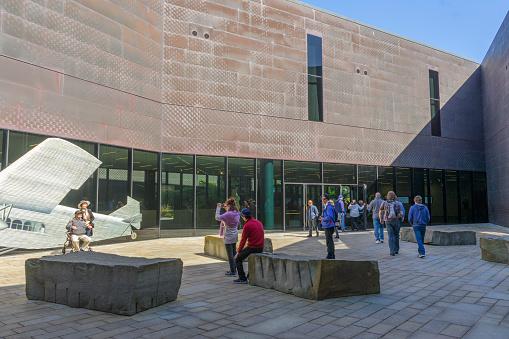 San Francisco, California, USA - September 11, 2018:  San Francisco M.H. de Young Memorial Museum.