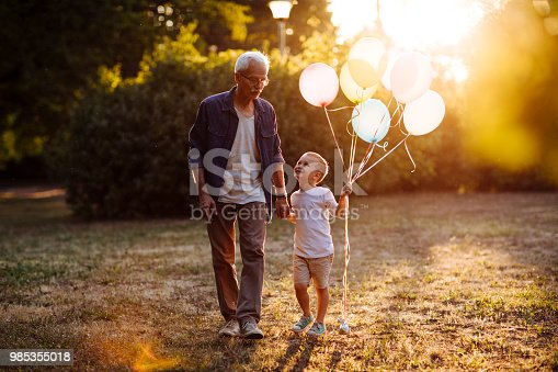 istock Day with grandpa 985355018