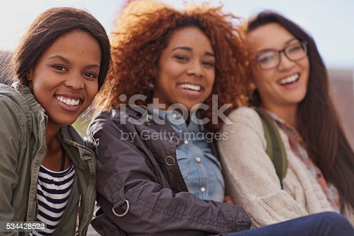 istock A day without laughter is a day wasted 534428523