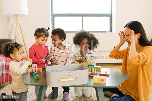 639403466istockphoto Daycare and dancing time for toddlers 860175592