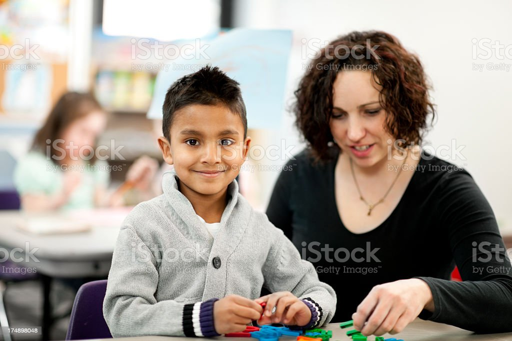 Daycare royalty-free stock photo