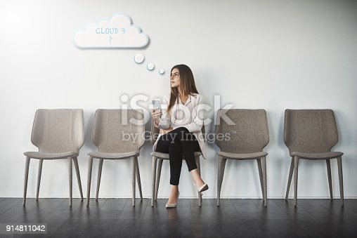 istock Daydreaming about the job 914811042