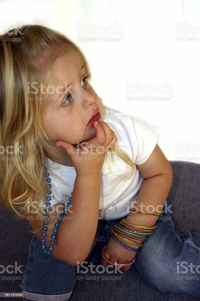 daydreaming stock photo