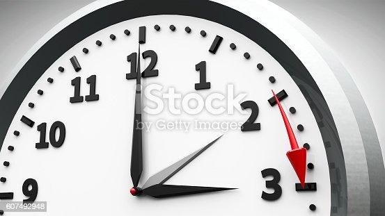 607492948 istock photo Daylight saving time begins 607492948