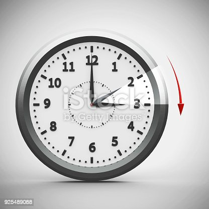 istock Daylight saving time begins #2 925489088