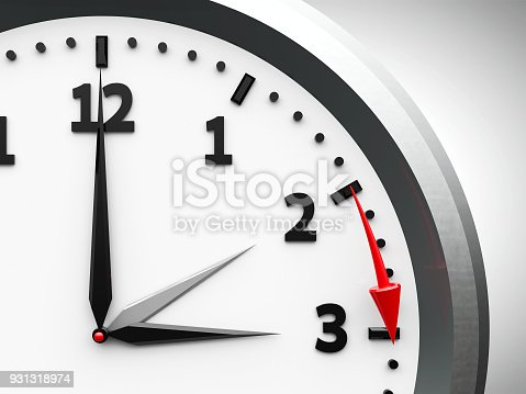 istock Daylight saving time begins #3 931318974