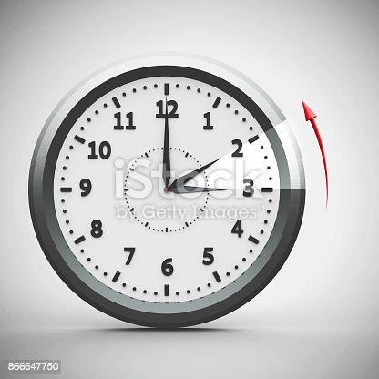 istock Daylight saving time ends #2 866647750