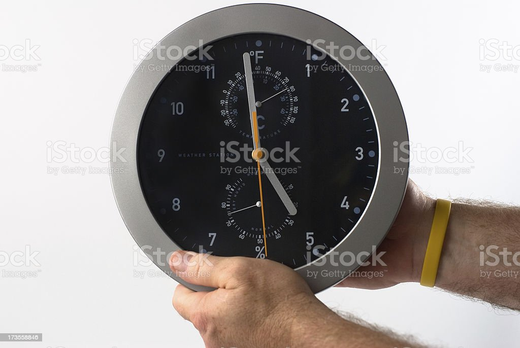 Daylight Saving Time royalty-free stock photo