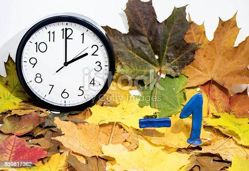 607492948 istock photo Daylight Saving Time. 859817362