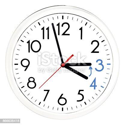 607492948 istock photo Daylight Saving Time. 866638418