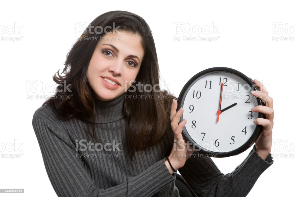 Daylight Savings - Royalty-free Adult Stock Photo