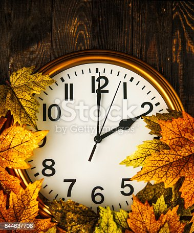 istock Daylight savings time. Clocks fall back in Autumn 844637706
