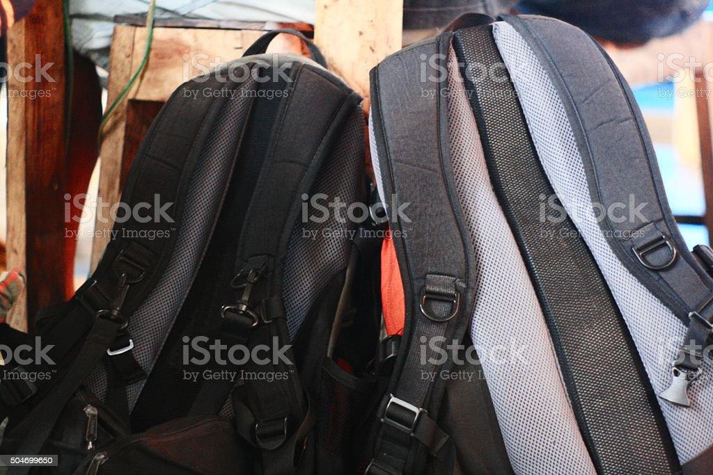 Daypack stock photo