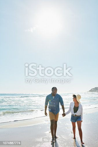 istock Days at the beach are a must for summer 1074887774