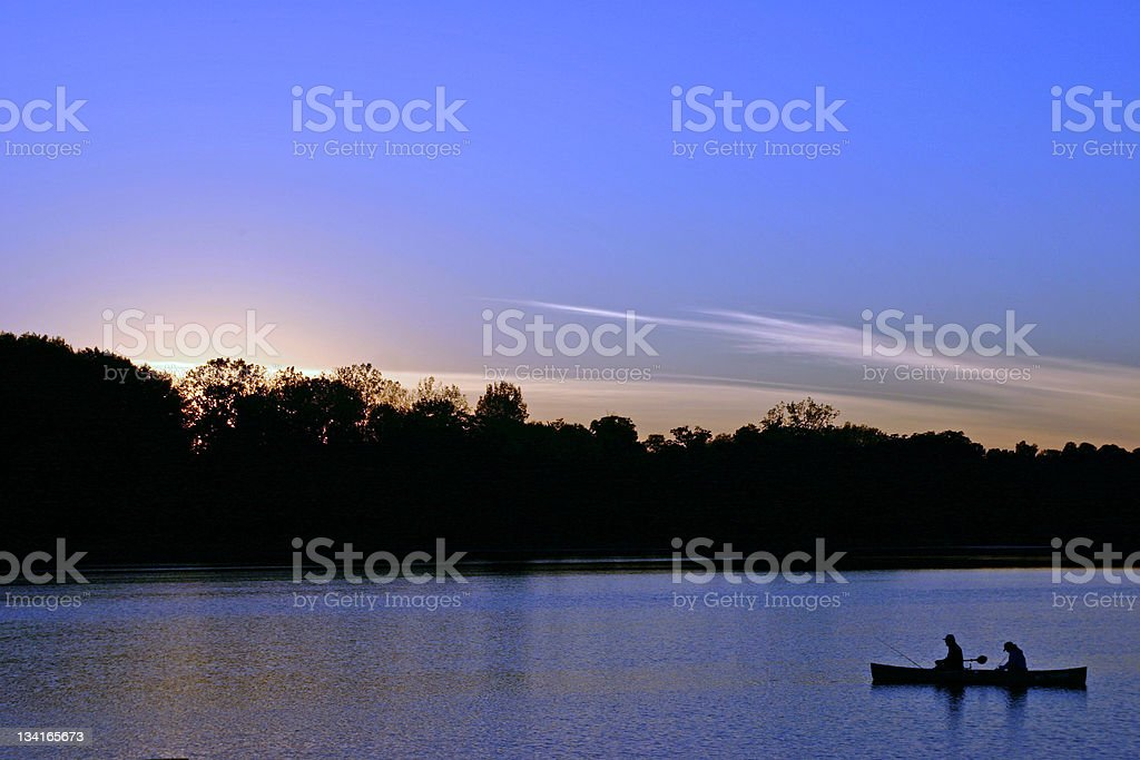 Day's End royalty-free stock photo