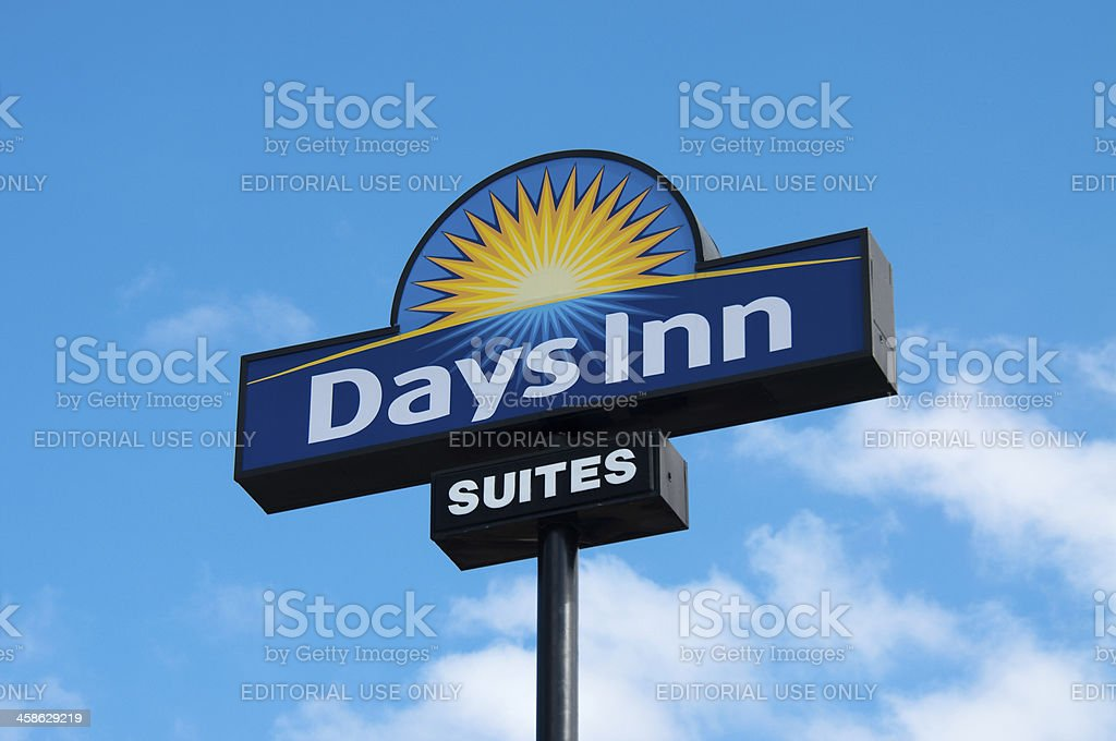 Days Inn Outdoor Sign stock photo