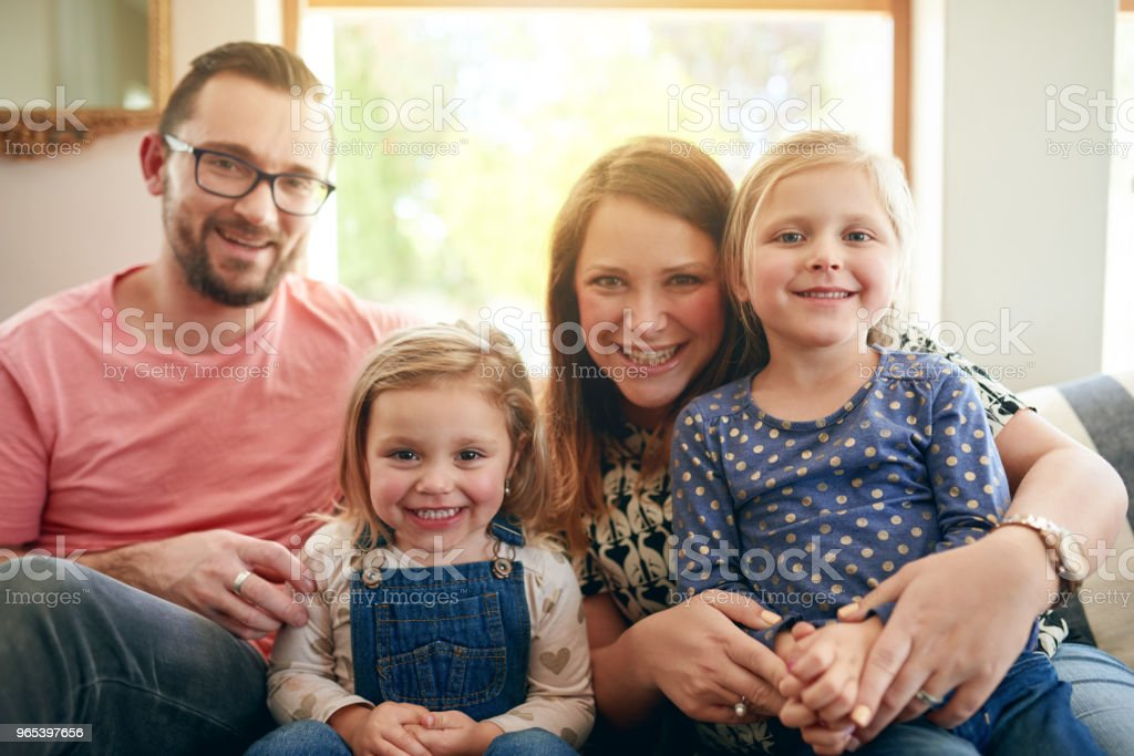 Days spent with family are days well spent royalty-free stock photo