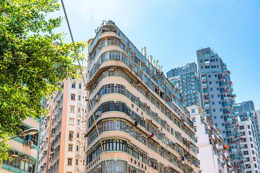 Daytime in Wan Chan, Downtown of Hong Kong
