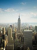 istock Daytime View New York Skyline 157604077