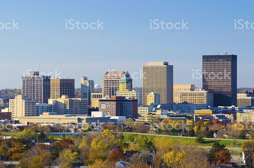 Dayton, OH skyline stock photo