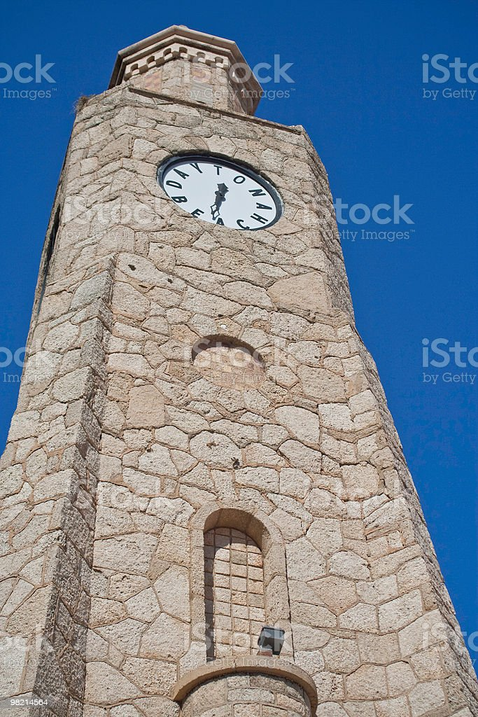 Daytona Beach Torre dell'orologio foto stock royalty-free