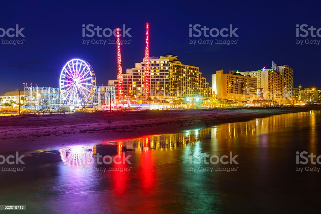 Daytona Beach, Florida stock photo